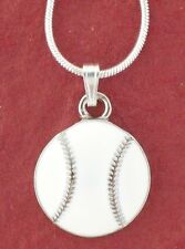 Softball Necklace Show you Love Baseball jewellery jewelry