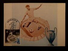 MONACO PREMIER JOUR FDC YVERT  1275     FOOTBALL    2F   1981