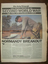 DAILY TELEGRAPH NEWSPAPER HISTORY OF THE SECOND WORLD WAR PART 4