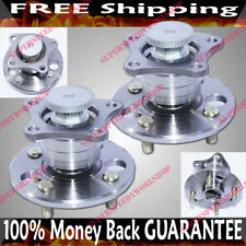 PAIR REAR Wheel Hub Bearing 98-02 Toyota Corolla LE/CE Sedan 1.8 1794 FWD512184