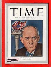 Time Magazine 1950,  March 27,  Atlantic Union's Streit