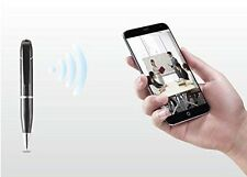New WiFi Pen Spy Hidden Camera Recorder Covert Clock DVR P2P IP phone Cheat Exam
