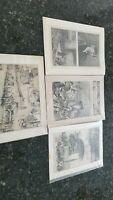 HARPERS FERRY LOT OF 4 1800s