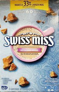 🔥 Swiss Miss No Sugar Added Cocoa 60/.73 oz 🔥