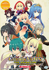 Grimms Notes The Animation DVD 1-12 Anime