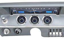 1961-62 Chevrolet Impala Dakota Digital Carbon Fiber & Blue VHX Gauge Dash Kit
