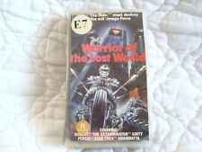 WARRIOR OF THE LOST WORLD VHS ROBERT GINTY DONALD PLEASENCE 80'S SCI-FI ACTION