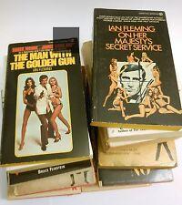 Ian Fleming, James Bond , 5 signet books, 2 bantan bks. 2 berkley books &4 bonus