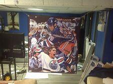 HUGE! 42x35 Wayne Gretzky Vinyl Banner POSTER Mario Lemieux Edmonton oilers ART
