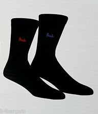 2 Pairs Pringle Mens Cotton Rich Trouser Socks with Lycra One Size Fits All 7-11