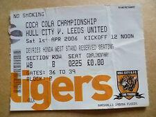 H Football League Fixture Tickets & Stubs (2004-Now)