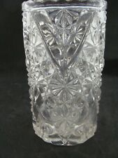 EAPG   Beatty Glass Co's Daisy & Button With V Ornament Celery