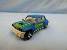 Vintage 1985 Corgi Renault 5 Turbo BP Team Rally Blue Diecast Model Car Toy