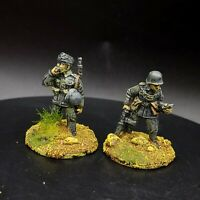 Painted 28mm Bolt Action Ww2 german field police  ×2