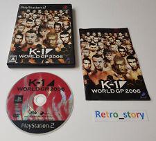 Sony Playstation PS2 - K-1 World GP 2006 - JAP