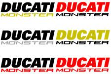 2x Adesivi Ducati monster 1100 evo 1100S 696 796 s2r s4r s4rs 600 750 900 1000
