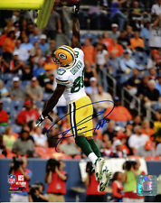 DONALD DRIVER GREEN BAY PACKERS SIGNED AUTOGRAPH 8X10 PHOTO