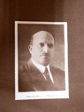 Stampa del 1923 Giovanni Biadene Collaboratore dell'Illustrazione Italiana