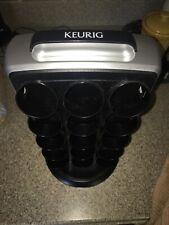 Keurig KCC-30 K Cup Carousel Black/Silver Storage Tower