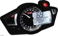 KOSO Universal Speedometer Tachometer Gauge RX-1N Black BA011W02