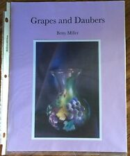 PP31 GRAPES AND DAUBERS by Betty Miller Decorative Tole Painting Pattern Packet