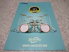 YAMAHA DRUMS 2017-2018 GENERAL CATALOG New F/S w/Tracking No.