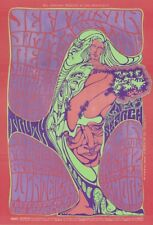 MINT Jefferson Airplane John Lee Hooker 1967 ORIGINAL BG 54 Fillmore Poster