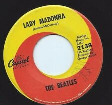 """Beatles - CAPITOL 2138 """"Lady Madonna / The Inner Light""""      45 SHIPS FREE"""
