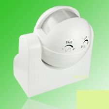 PIR MOTION SENSOR SWITCH FOR LIGHT WALL MOUNT (POWER SAVER)