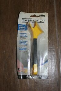 NIP NOS Homax Professional Caulk Remover Tool. Angled for Corners & Flat Scraper