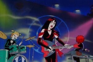 Hanna Barbera Scooby Doo Original Production Cel OBG Witch's Ghost Hex Girls!!