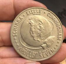 1968 Apollo Seven Commemorative Medal Nice