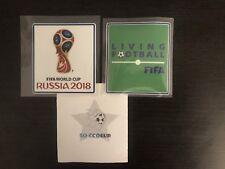 Patch badge coupe du monde 2018.