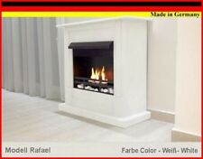 Chimenea Caminetto Fireplace Cheminee Firegel Etanol y Gel Rafael Premium Blanco