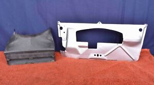Porsche 911 turbo Carrera 3.0 Duct Whale Tail Whaletail Decklid Airduct & Plate