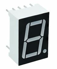 "Blue 0.56"" 1 Digit 7 Seven Segment Display Cathode LED"