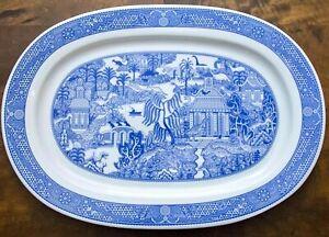 Large Serving Platter Plate Polish Porcelain Calamity Ware Calamityware Tray