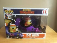 FUNKO POP VINYL RIDES 11 WACKY RACES MEAN MACHINE MUTLEY RARE VAULTED