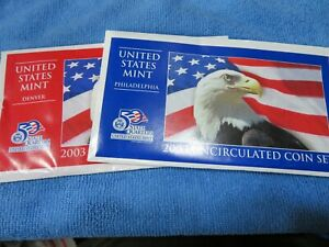 2003 US Mint Set with State Quarters