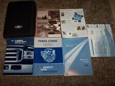 2005 Ford F-250 Owner Operator Manual XL XLT Lariat Diesel V8 V10 5.4L 6.0L 6.8L
