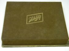 """1943 Boxed & Sealed Twin Decks of Schlitz Beer """"Rembrance"""" Playing Cards"""