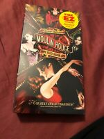New Sealed Moulin Rouge (VHS, 2001) Screener Copy Promo