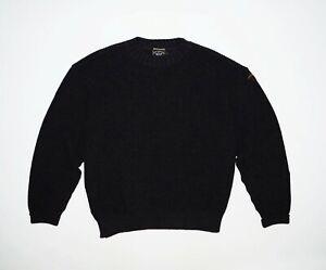 Men's Paul & Shark Bretagne Pure New Wool Knit Sweater Size XL