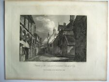 Remains of the Ancient Conventual Church at Ely (published May 4th, 1808)