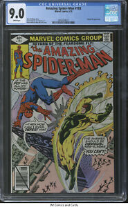 Amazing Spider-Man #193 1979 CGC 9.0 - Wolfman story, Human Fly appearance.