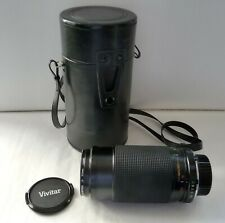 OBJECTIF APPAREIL PHOTO MINOLTA / VIVITAR DL MACRO FOCUSING ZOOM 75 - 205 mm