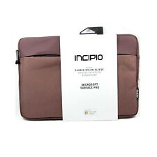 INCIPIO BAG SLEEVE FOR MICROSOFT SURFACE PRO 2017 PRO 4 TRUMAN NEW MRSF-107-BUR