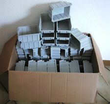 80 Stück Stapelboxen Gr.2   * 167x102x76mm  *  Lichtgrau  *  NEUWARE