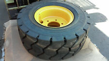 *s/h quote* 355/65R15 Michelin Stabil'X Xzm Radial Forklift Tire w/ wheel