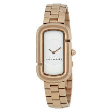 Marc Jacobs The Jacobs White Dial Ladies Rose Gold Watch MJ3502